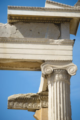 Detail of the Erechtheion, Acropolis, Athens, Greece