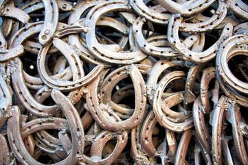 welded horseshoes