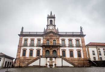 Museum of Betrayal,Tiradentes Square in Ouro Preto
