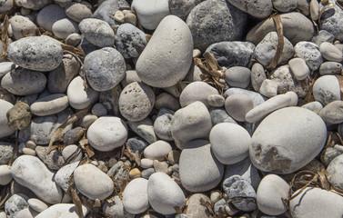 beach rocks sand sea