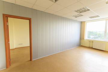 empty small office room