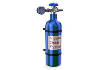 Nitrous Oxide System gas cylinder