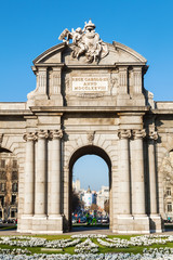 Puerta de Alcala in Madrid, Spanien