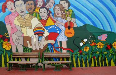 Mural en Caracas