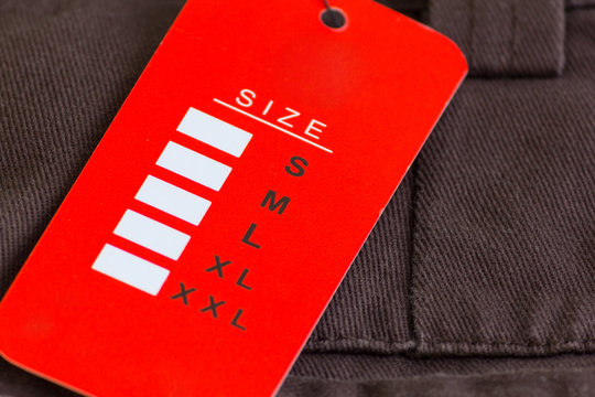 red size tag