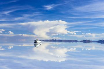 Fotomurales - ミラーレイク・ウユニ塩湖