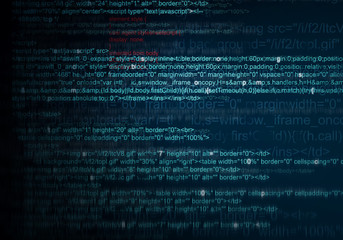 Abstract Background of program web code