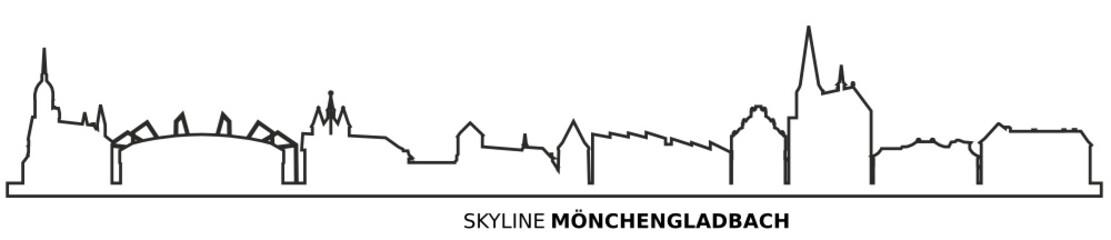 Mönchengladbach Skyline