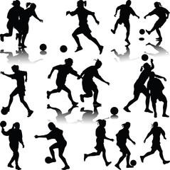 woman soccer