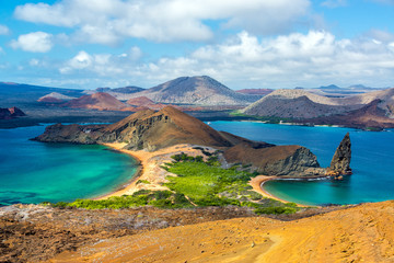 Wall Murals South America Country View from Bartolome Island