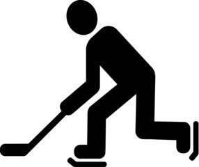 Hockey Pictogram