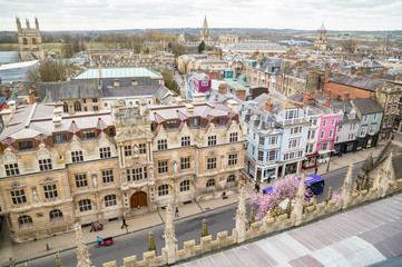 Oxford High Street and Skyline