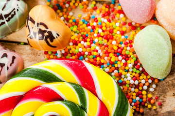 Sweets and candy.