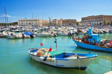 Photo sur Aluminium Bleu jean Panoramic view of Trani. Puglia. Italy.