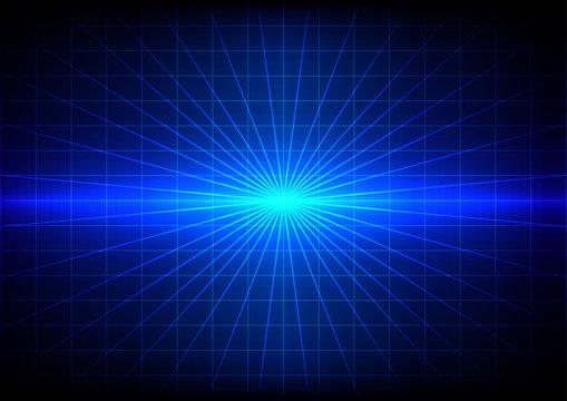 abstrack blue flare light effect background