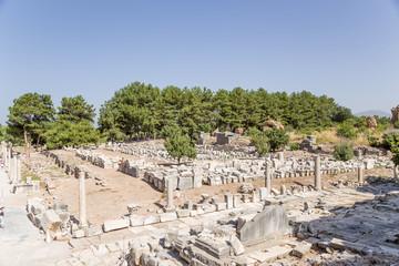 Ephesus. Ruins of Gymnasiums