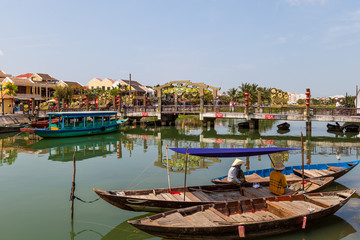 Am Ufer in Hoi An
