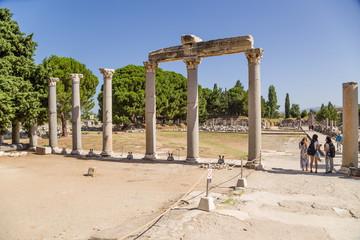 Ephesus, Turkey. Tetragonos Agora, Roman period