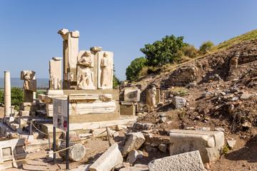 Ancient Ephesus. Mausoleum Memmius, III century BC