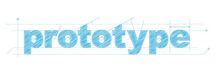 PROTOTYPE icon (creativity innovation business ideas)