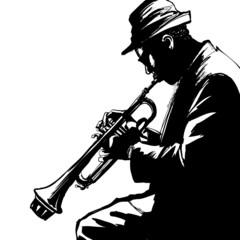 Fototapete - 0016-trumpet