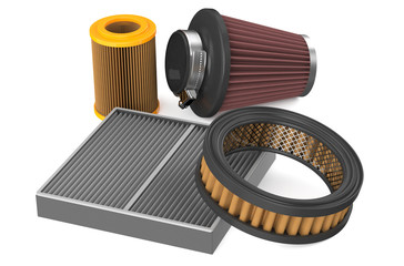 set of air filter for car