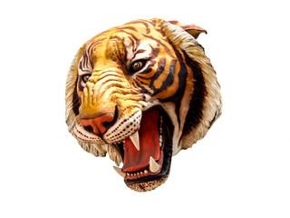 Tiger image isolated on white background