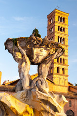Roma Basilica si Santa Maria in Cosmedin