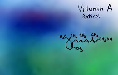 vitamin A, formula, vitamins