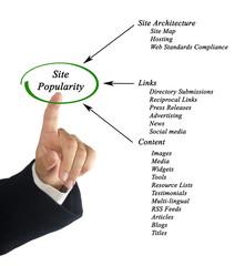 Site Popularity