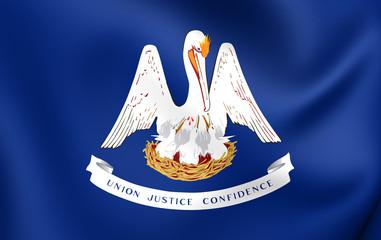 Flag of Louisiana, USA.
