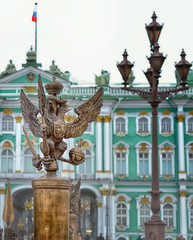 two-headed eagle, the symbol of Russia