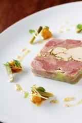 pork terrine plated starter