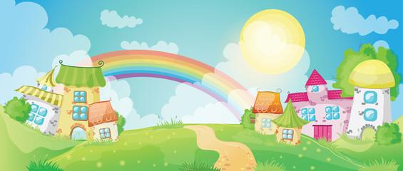 Fairy-tale village