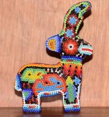 Handicraft huichol art