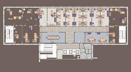Plan Office Building