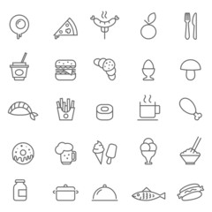 Food icon Vector illustration