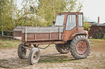 Old tractor 2360.
