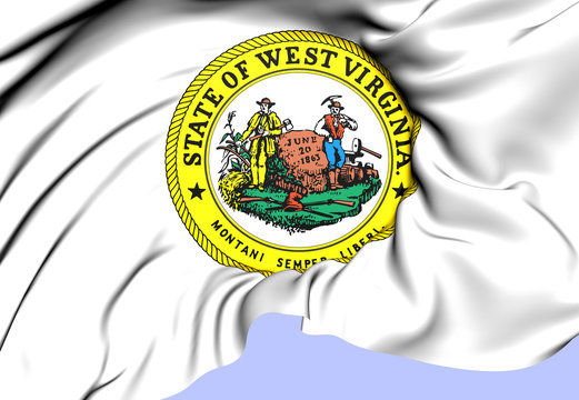 State Seal of West Virginia, USA.