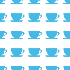 Unique Cup seamless pattern