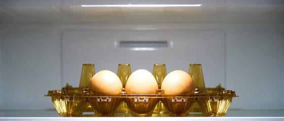 Eggs in freezer