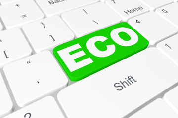 """Button """"ECO"""" on keyboard"""