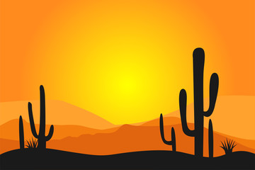 Mexican desert background