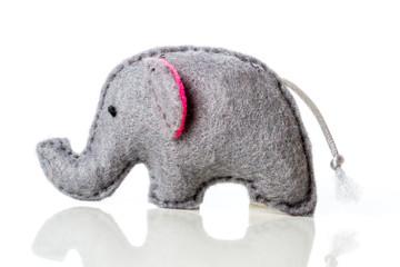 Hand Stitched Elephant