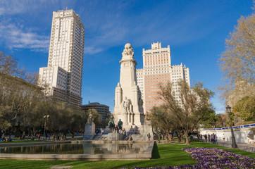 Plaza de Espana view