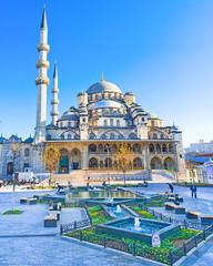 Deurstickers Turkije The old mosque