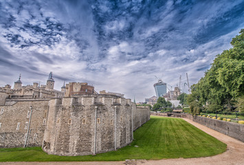 Tower of London on a sunny day