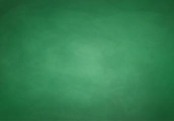Green chalkboard background.