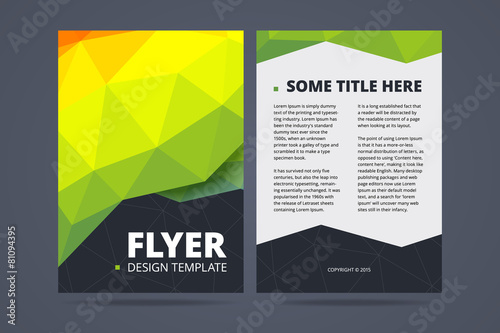2 sided brochure templates