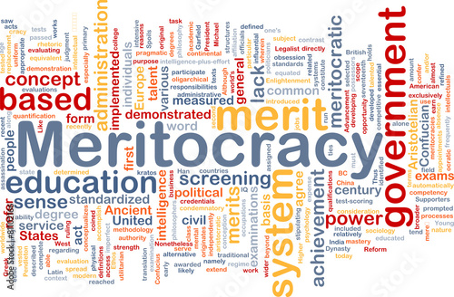 meritocracy term papers